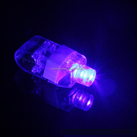 Hot popular holloween party gift finger ring flashing led light