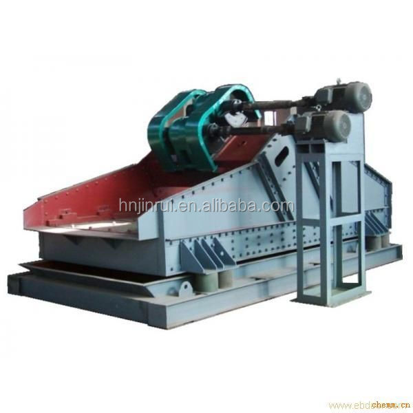 Vibrating Frequency 800 Linear Shake Sieve with high efficiency