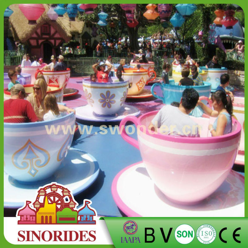Coffee Cup/crazy cup Amusement park rides indoor/outdoor park facility on sale