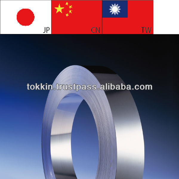 Metal Foil ( Coils / Strips ) , 0.01 - 0.10Mm Thick For Toner/Doctor Blade/ Blade Toner