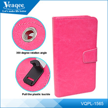 Veaqee manufacturer stand replacement back leather case flip cover for samsung galaxy s4