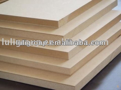 Slot MDF/Plain /Wood Veneer /PVC/HPL/UV/Melamine Laminated MDF/HDF board