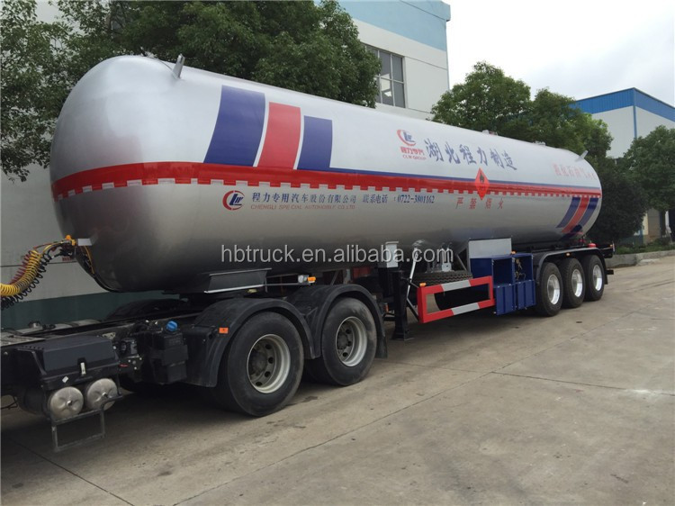 3-axis LPG tank semi trailer