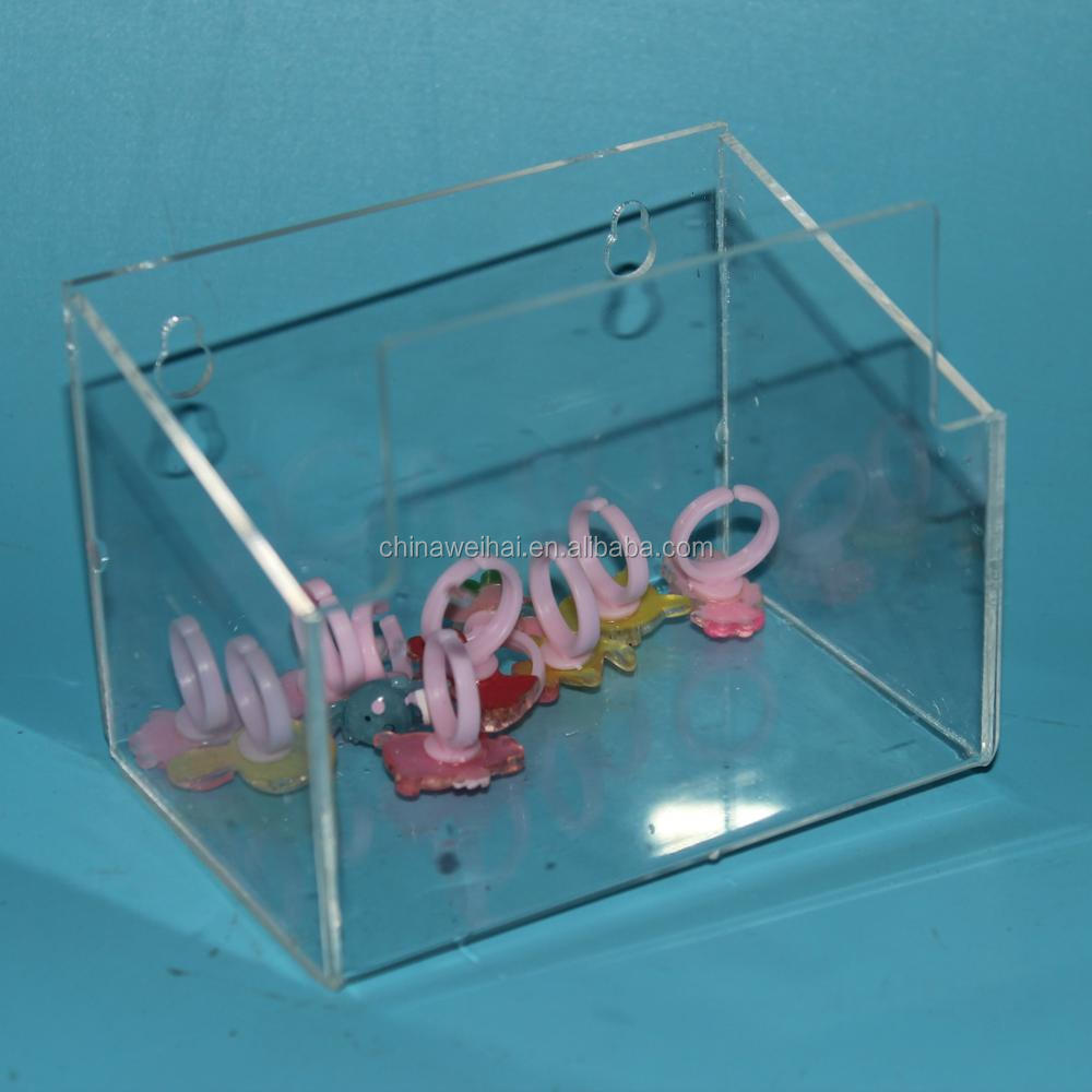 2017 New Design Wall Mounted Acrylic/Plexiglass Display Box