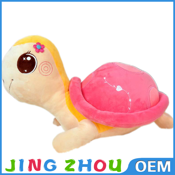 Best Workmanship Plush Toy Sea Animal Pink Turtle Soft Toy