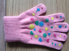 unisex custom wholesale cheap children magic acrylic glove