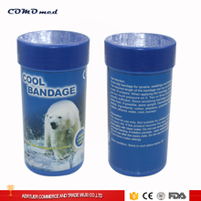 China supplier blue and skin color cold bandage for first aid