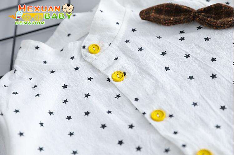 fashion kid boys clothes Long sleeve shirt + Jeans casual Children baby boy clothing sets