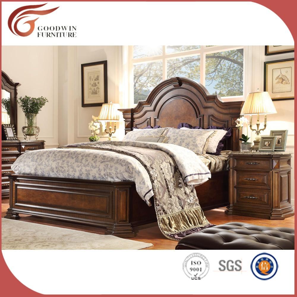 Hot vente antique meubles en bois classique meubles de for Commande chambre a coucher