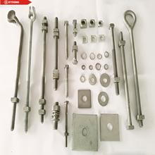 Rigging Hardware Regular Nut Rivet Galvanized Eye Bolts Concrete Oval Eye Bolt for Fastener/Spool Bolt/Brace Bolt