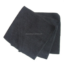 Hotel Egyptian Organic Cotton Terry Black Face Towel