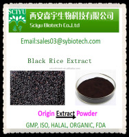 Black Rice Extract 5%~25% Anthocyanin and 95% Proanthocyanidins