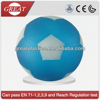 Health care shine pvc soccer ball