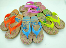 2017 Fashion New Product Fashion Beach Walking Girls Slippers Women EVA Flip Flops