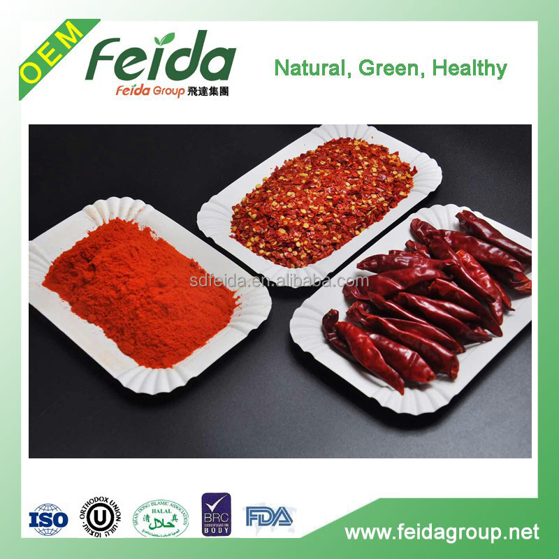 60-160 Color and Dried Style Sweet Paprika powder