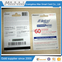 New products on china market paper magnetic stripe card/paper name card