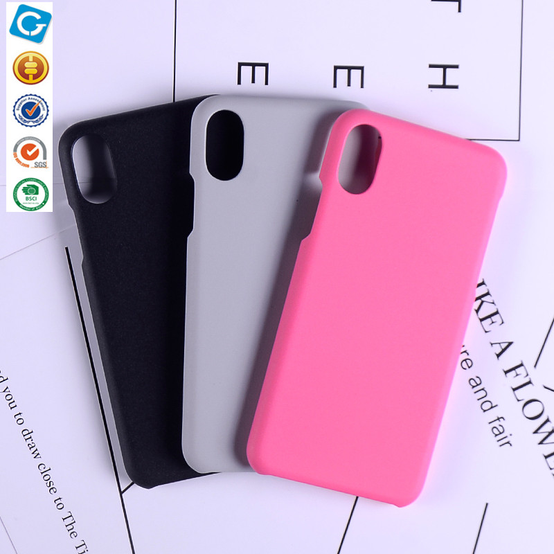 2017 Latest Free Sample Hard PC Shockproof Case Cover for iphone 8 Iphone X