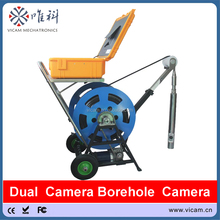 Professional Underwater Video Pipe Inspection Camera Underground Borehole Inspection Camera with 63mm Diameter Camera V10-BCS