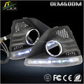 LED DRL For Fordd Focuss led daytime running light hatchback having foglight 2009 - 2011