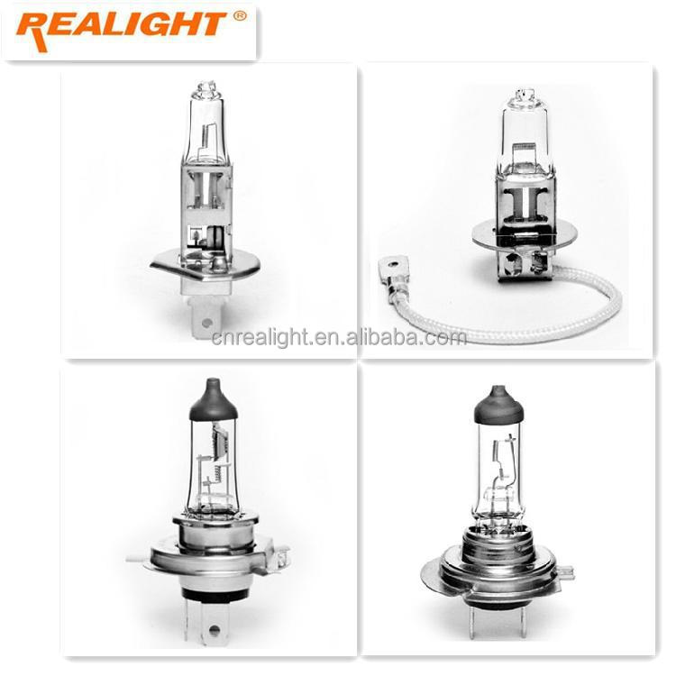 E-mark Auto Lamp H1 H3 H4 H7 12V 24V 55W 70W 100W Halogen Bulb Light
