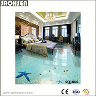 3D Modern Seaworld Design Porcelain Floor Tiles