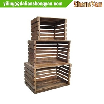 Reclaimed Pallets Design Storage Cube Shelves