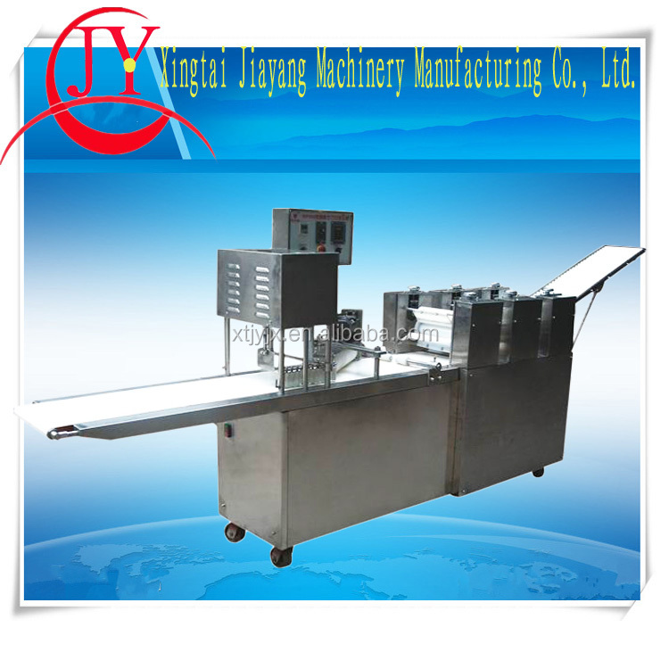 Factory price automatic swiss roll cake production machine/automatic spring roll making machine/square momo making machine