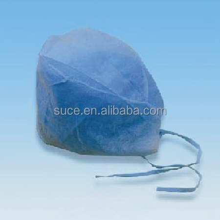 OEM Medical PP Nonwoven disposable nurse cap with multi color