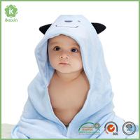China New Design Baby Towel Bamboo Baby Swaddle