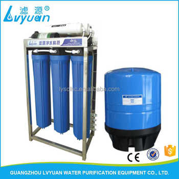 100GPD 200GPD 300GPD 400GPD RO filtration plant Reverse Osmosis Commercial Water Purifier