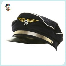 Adult Airline Airplane Captain Pilot Aviator Costume Hats HPC-2092