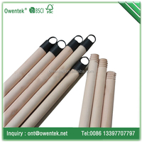 For mop use home cleaning thick wood broom stick china guangxi factory on sale