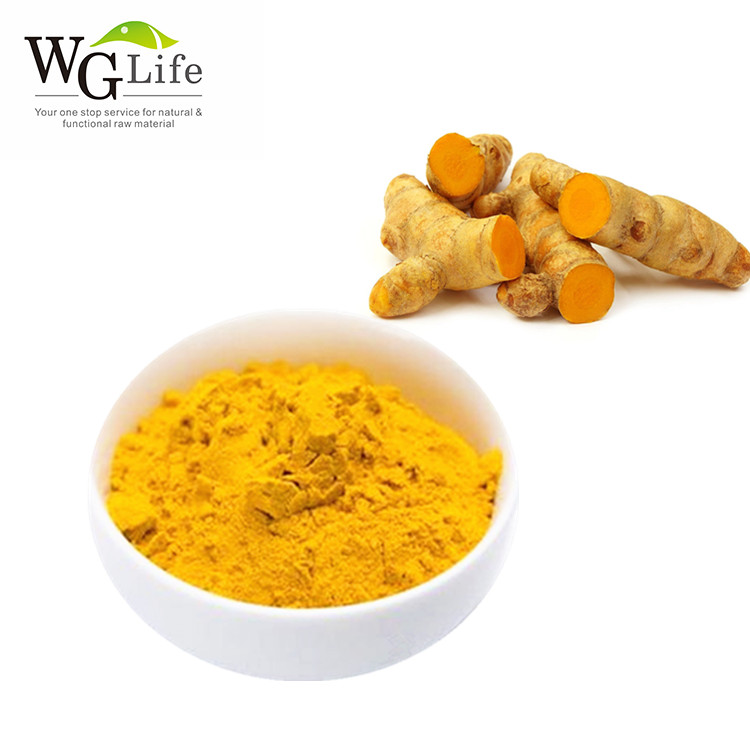 Factory wholesale curcumin extract 95% turmeric root extract white turmeric powder