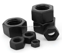 Black Hex Nut Din934 Fastener Hardware