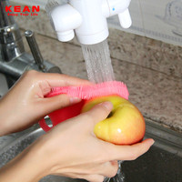 Durable Heat-resistant Home Use Wash Tool Dish Bowl Scrubber Cleaner Face Wash Brush