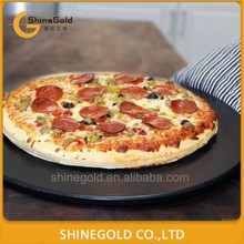 black cordierite pizza stone