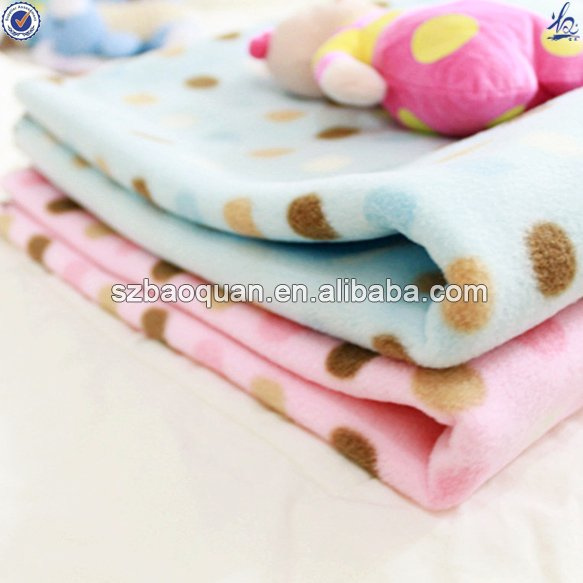 polyester life comfort fleece blanket/fleece baby blanket