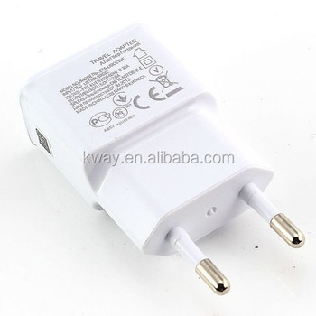 Travel AC Wall Charger Adapter power adapter For Samsung Galaxy smart phone for htc lg huawei xiaomi for iPhone 7 6s plus 5S SE