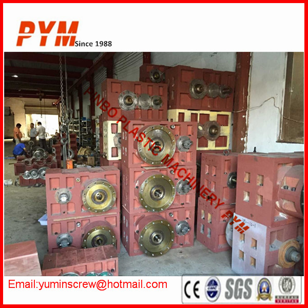 Gear reducer gearbox for extrude