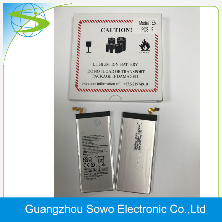 Yes Rechargeable and Mobile Phone Use battery For Samsung E5