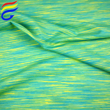 160cm*180gsm yarn dyed polyester spandex jersey knit fabric wholesale