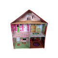 Fashion new exquisite popular dollhouse Mini Doll House With Furnitures Toys Sets For Kids