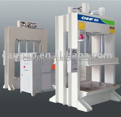 HF Press machine for curved plywood