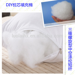 Low Price 7dx51mm 100% polyester fiber for toys of China