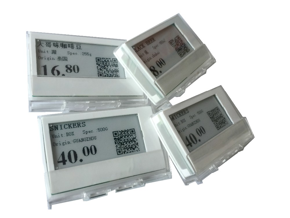 Supermarket Electronic e-ink display Shelf Label