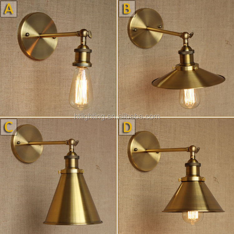 2017 SIMIG modern and fashion brass wall lamp for home decoration