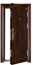 Intime Steel Security exterior metal door YT-FD917 china suppliers