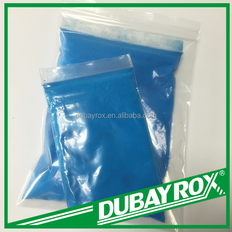 Fluorescent Pigment blue DFP 1906 application of glass/enamel /ceramic industry