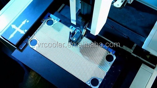 spiral plate heat exchanger compatible plates and gaskets