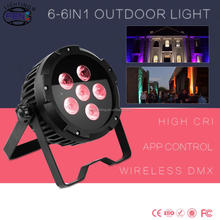 Led Mini Waterproof Outdoor Stage Light IP65 ip rating wireless dmx led slim par